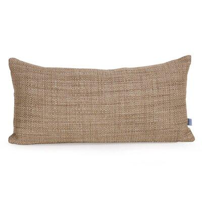 Lovina Coco Kidney Soft Burlap Lumbar Pillow Color: Stone