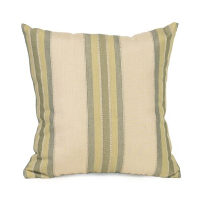 Baja Indoor/Outdoor Throw Pillow Size: 16 x 16, Color: Willow