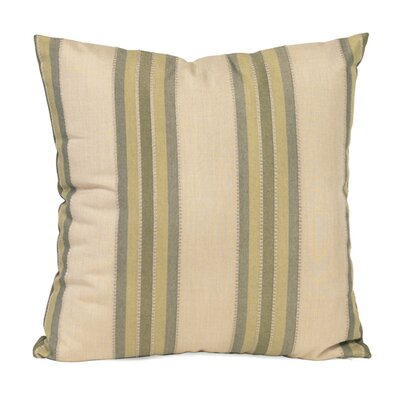 Baja Indoor/Outdoor Throw Pillow Size: 20 x 20, Color: Willow