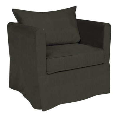 Alexandria Sterling Arm Chair Upholstery: Charcoal