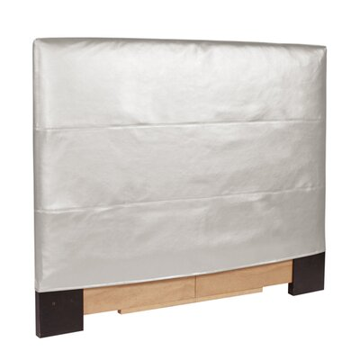 Jodie Shimmer Upholstered Panel Headboard Size: Twin, Upholstery: Mercury