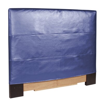 Jodie Shimmer Upholstered Panel Headboard Size: Full / Queen, Upholstery: Sapphire