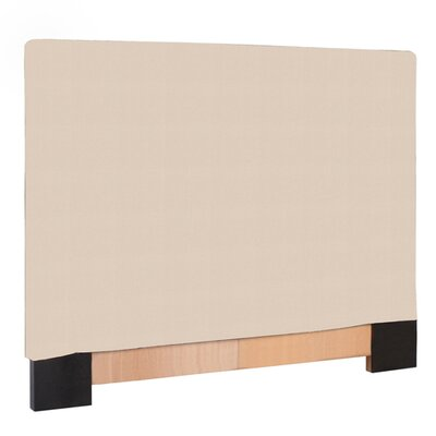 Ballenton Upholstered Panel Headboard Upholstery: Sand, Size: Twin