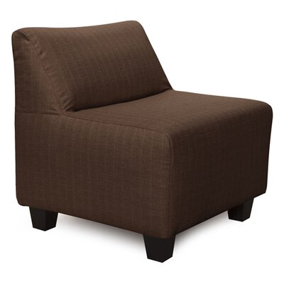 Cunningham Sterling Slipper Chair Color: Chocolate