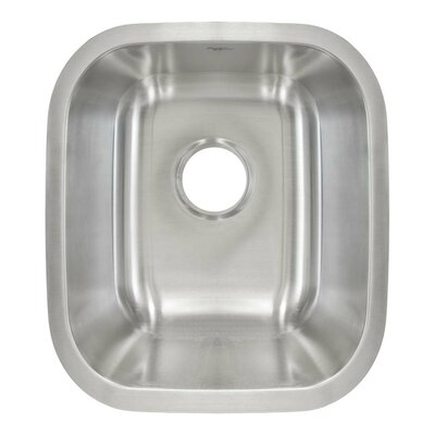 18 x 12.63 Undermount Single Bowl Bar/Bar Sink