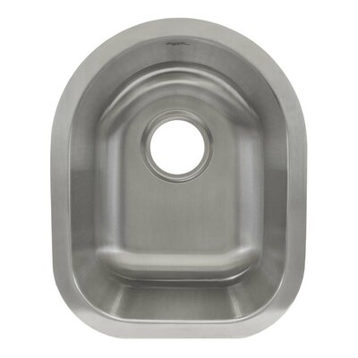 17 x 13.63 Undermount Single Bowl Bar/Bar Sink
