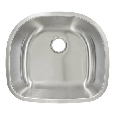 23.63 x 21 Undermount Single Bowl Kitchen Sink
