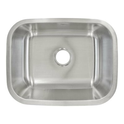 23 x 18 Undermount Single Bowl Kitchen Sink