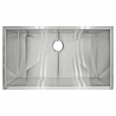 32 x 19 Undermount Single Basin Kitchen Sink