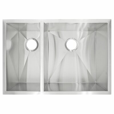 29 x 20 Undermount Double Basin Kitchen Sink