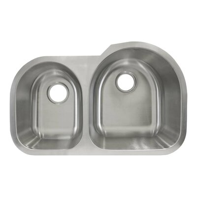30.5 x 19.63 Undermount Double Basin Kitchen Sink