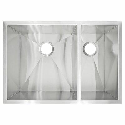 29 x 20 Undermount Double Basin Kitchen Sink