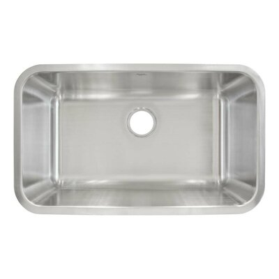 30 x 18 Undermount Single Bowl Kitchen Sink