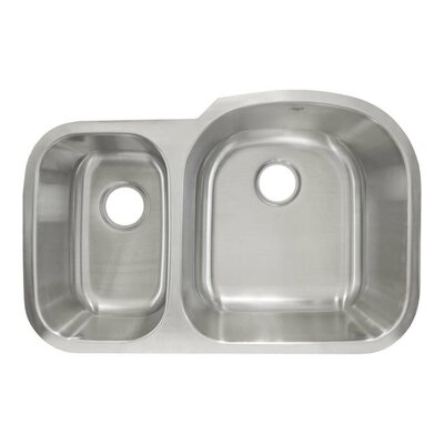31.38 x 20.63 Undermount Double Basin Kitchen Sink
