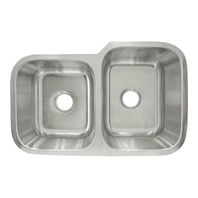 31.5 x 20.25 Undermount Double Basin Kitchen Sink
