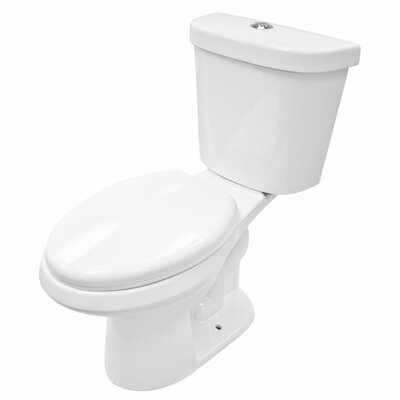 Dual Flush Elongated Two-Piece Toilet