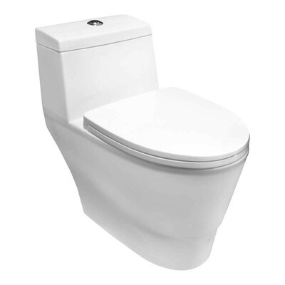 1.6 GPF Elongated One-Piece Toilet
