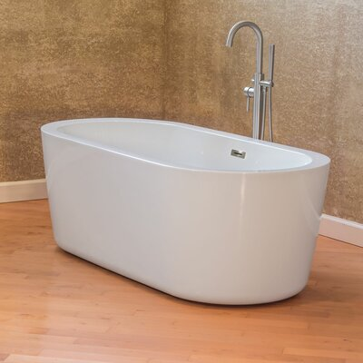 Freestanding 66.75 x 31.75 Bathtub