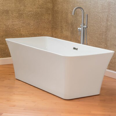 Freestanding 66.75 x 31.25 Bathtub
