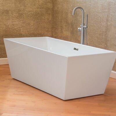 Freestanding 66.75 x 31.5 Bathtub