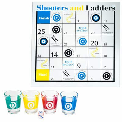Shooters and Ladders Drinking Game 80-GC069A