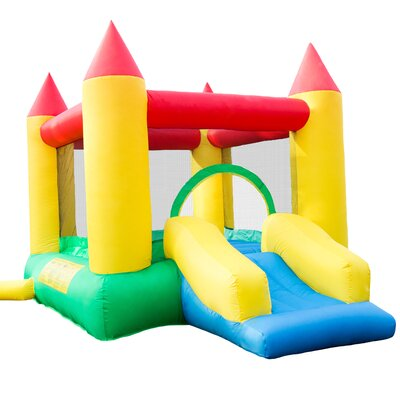 16 Piece Inflatable Bounce House Set with Slide M420003