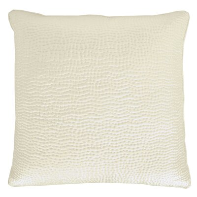 Hammered Sham Color: Cream