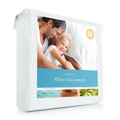 Encasement Pillow Protector Size: King