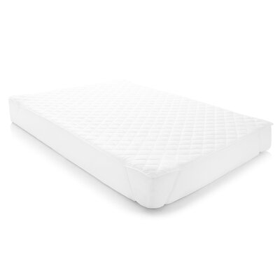 Quilted Waterproof Polyester Mattress Pad Size: Queen