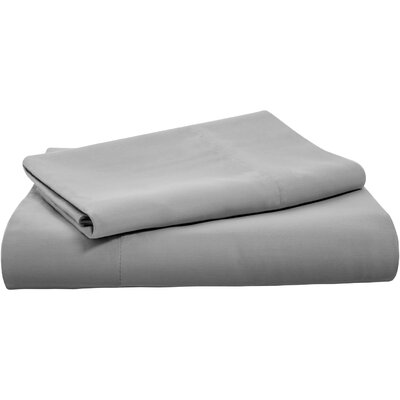 Polyester Pillow Case Color: Stone, Size: Queen