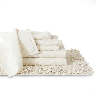7 Piece Towel Set Color: Ivory