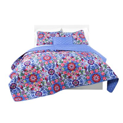 Quincy Copeton Rosal Quilt Set Size: Full/Queen