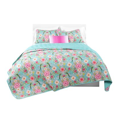 Goes Oasis Colibre Quilt Set Size: Twin