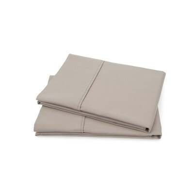 Hartsfield Luxury Pillow Case Size: Standard, Color: Taupe