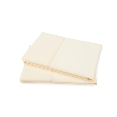 Hartsfield Luxury Pillow Case Size: King, Color: Ivory