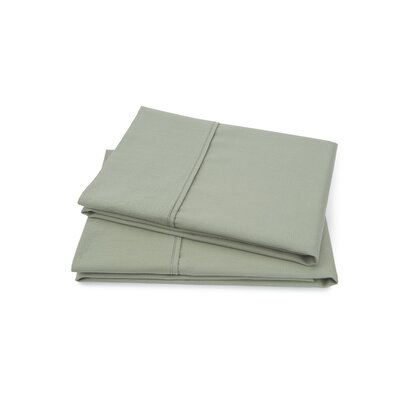Hartsfield Luxury Pillow Case Size: Standard, Color: Sage