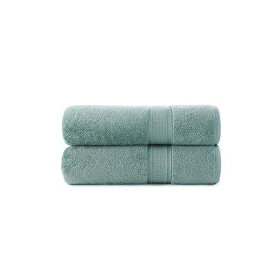 Luxury Rayon Bath Towel Set Color: Seafoam Green