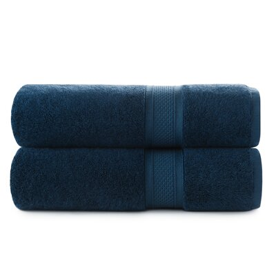 Luxury Rayon Bath Towel Set Color: Baltic Sea