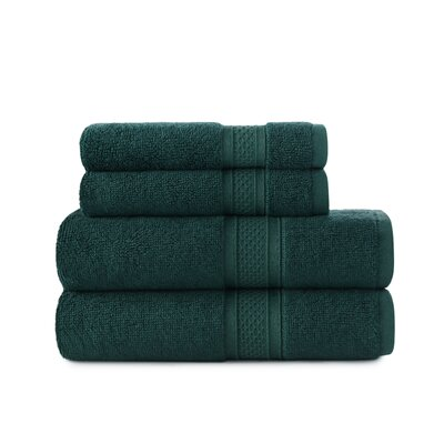 Luxury Rayon Bath Towel Set Color: Astro Teal
