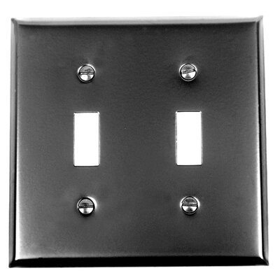 2 Toggle Switch Plate