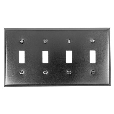 4 Toggle Switch Plate