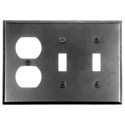 2 Toggle Duplex Wall Plate