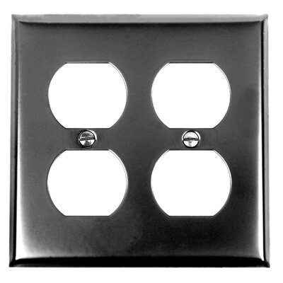 Double Duplex Wall Plate