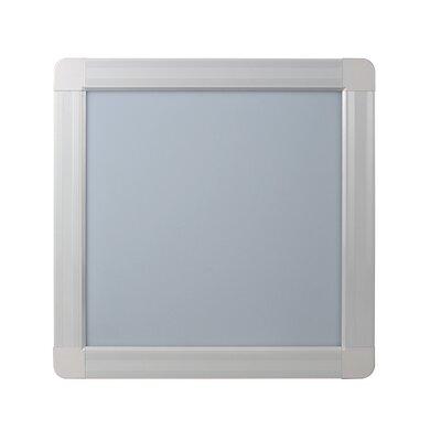 Back Lit Panel 1 LED Recessed Trim