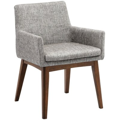 Dessa Arm Chair Upholstery: Grey