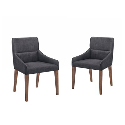 Paityn Upholstered Dining Chair Upholstery Color: Charcoal
