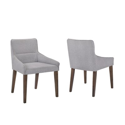 Paityn Upholstered Dining Chair Upholstery Color: Gray