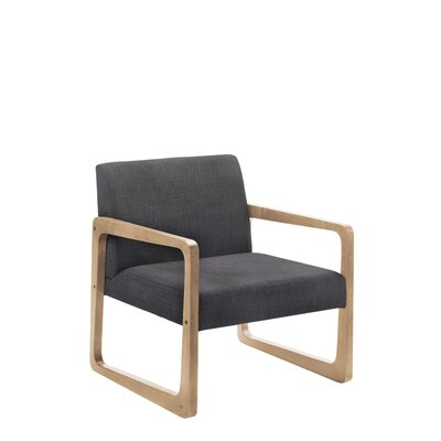 Paityn Armchair Upholstery Color: Charcoal