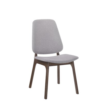 Paityn Modern Upholstered Dining Chair Frame Color: Brown