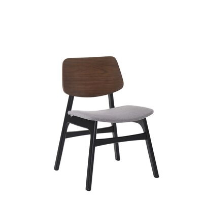 Paityn Modern Curved Back Upholstered Dining Chair